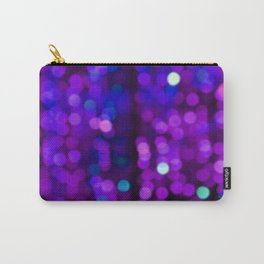 Purple Disco Carry-All Pouch
