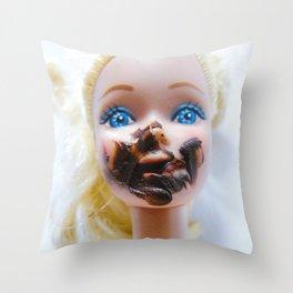 Chica chocoholica Throw Pillow