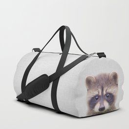 Raccoon - Colorful Duffle Bag
