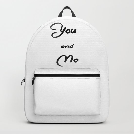 You and Me Backpack