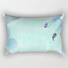 Skating Rectangular Pillow