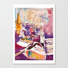 20170322b USKSG Nandos Peri Peri Chicken at Bugis Canvas Print