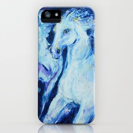 My Dream: Three Horses from the Stars iPhone Case