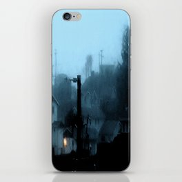 Strange Night: Ghost Light iPhone Skin