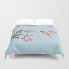 Blossom Bird  Duvet Cover