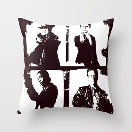 Justified Four Throw Pillow