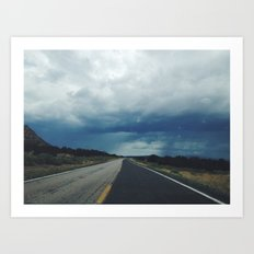 New Mexico back road Art Print