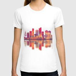 Phnom Penh Cambodia Skyline T-shirt