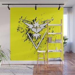 Team Yellow Wall Mural
