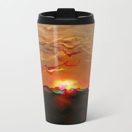 Explosion Metal Travel Mug