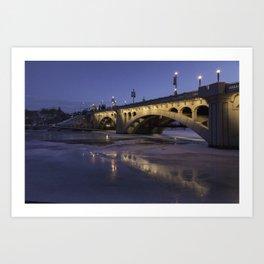Early Morning Centre St. Bridge Art Print