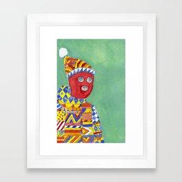 Outerwear Framed Art Print