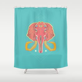 psyphant Shower Curtain