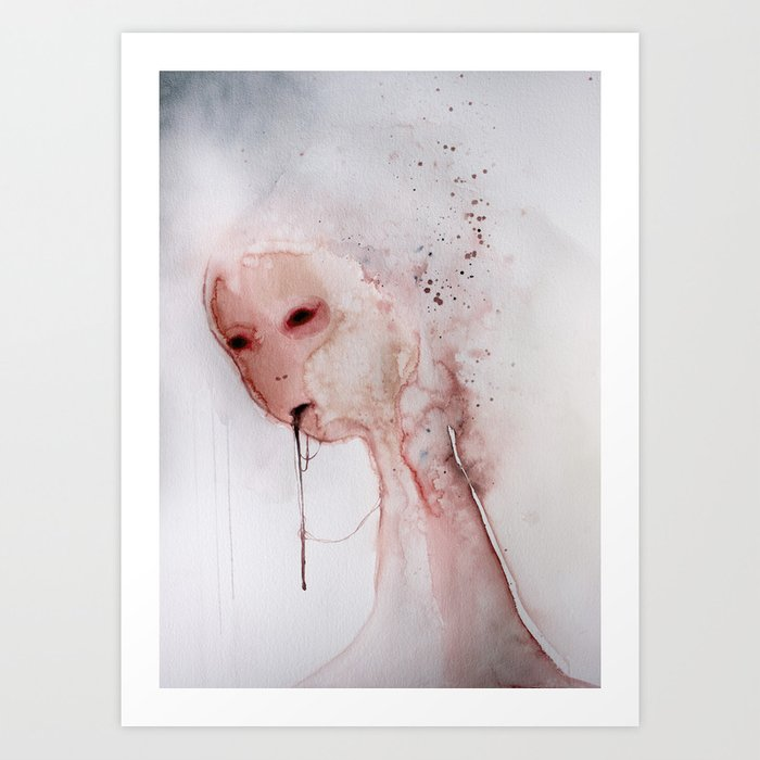 I don't want your love unless you know that I am repulsive, and love me even as you know it. (10) Art Print