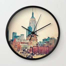 Vintage NYC - Repost for size update Wall Clock