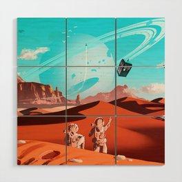 tardis space Wood Wall Art