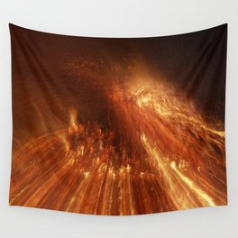 Flames Wall Tapestry