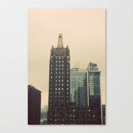 Carbide and Carbon Building Chicago Canvas Print