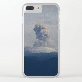 Nevado del Ruiz Clear iPhone Case