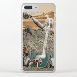 Source of water Clear iPhone Case