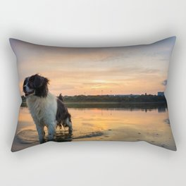 sundown refreshment Rectangular Pillow