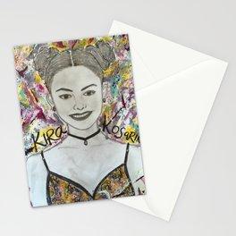 Nail Polish painting of Kira Kosarin Stationery Cards