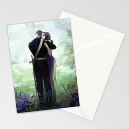 In your arms Stationery Cards