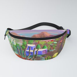 Phoenix after California falls in the Ocean Fanny Pack