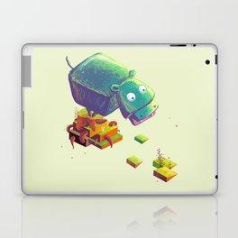 Lil Cube Hippo Laptop & iPad Skin