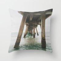 boardwalk empire Throw Pillows featuring Boardwalk. by marksej