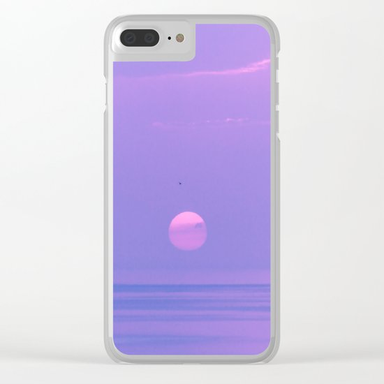 Fantastic sunrise Clear iPhone Case