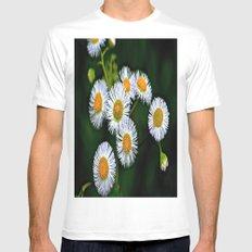 Flowerworks MEDIUM Mens Fitted Tee White