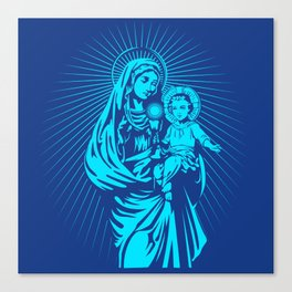 mary mother of god  Canvas Print
