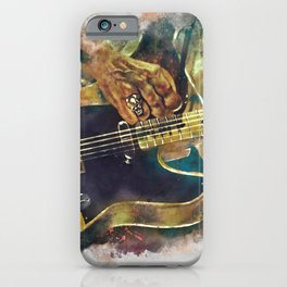 Keith Richards's electric guitar iPhone Case