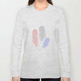 Tender Feathers Long Sleeve T-shirt