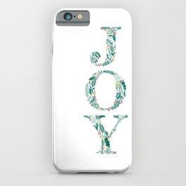 Holiday JOY iPhone Case