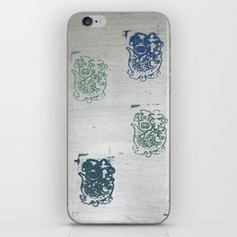 When Trapped Water Makes a New Path iPhone Skin