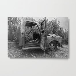 Old Chevy Truck II Metal Print