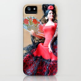 Flamenco doll  iPhone Case