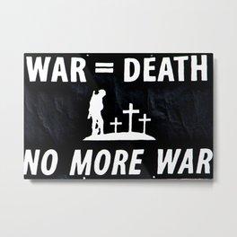 war Metal Print