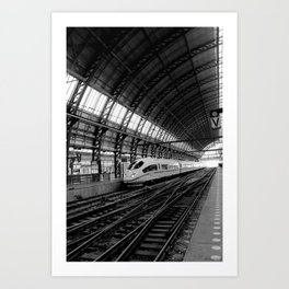 Station Amsterdam Art Print