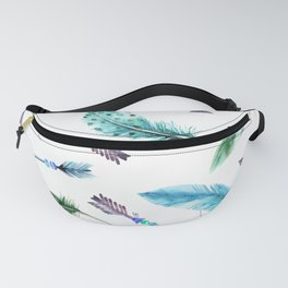 Autumn Hunt Arrows + Feathers Fanny Pack