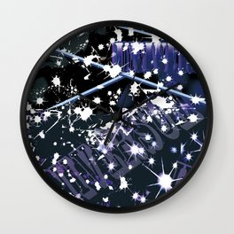 cat in universe part2 Wall Clock