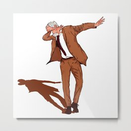 Jeremy Corbyn Labour 2017 DAB ON Dance Metal Print