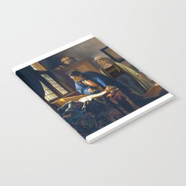 The Doctor and Vermeer's Geographer Notebook