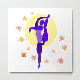 Autumn Dancer Metal Print