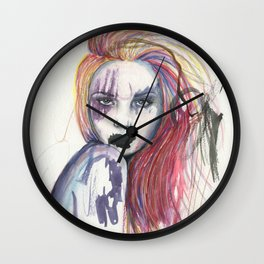 The Siren's Song Wall Clock