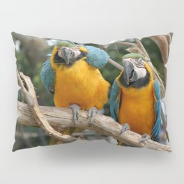 Blue And Gold Macaw Pillow Sham