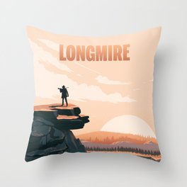 Longmire: Out West Throw Pillow