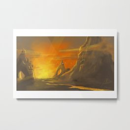 Lion's Cavern Metal Print
